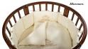 Постельное белье Nuovita Prestigio для круглой кроватки 75х75 см