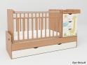 Детская кровать - трансформер с маятником СКВ 5 Жираф