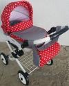 Детская кукольная коляска Adbor Lily Lc-11