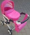 Детская кукольная коляска Adbor Lily Lc-09