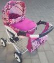 Детская кукольная коляска Adbor Lily K13