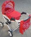 Детская кукольная коляска Adbor Lily Lc-17