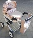 Детская кукольная коляска Adbor Lily Lc-10