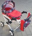 Детская кукольная коляска Adbor Lily Lc-18