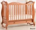Детская кроватка Гандылян Габриэлла Люкс (колесо-качалка)