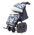 Детские санки-коляска Pikate Military