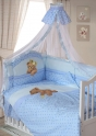 Комплект постельного белья Золотой гусь Мишка Царь (8 пр)