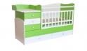 Детская кровать - трансформер с маятником Фея 1400 5 в 1