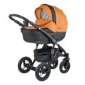 Детская коляска Adamex Barletta Karbon Deluxe 31S (100% кожа)
