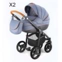 Детская коляска Adamex Neonex Alfa X2