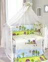Комплект в кроватку BOMBUS FAMILY