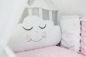 Комплект в кроватку с подушками ByTwinz Звездочка 4 пр. розовый