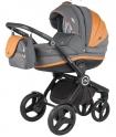 Детская коляска Adamex  AVATOR Carmel&Grey A22