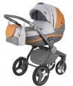 Детская коляска Adamex  AVATOR Carmel&Grey A23