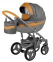 Детская коляска Adamex Monte Carbon Deluxe  D1