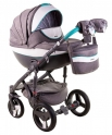 Детская коляска Adamex Monte Carbon Deluxe  D2