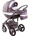 Детская коляска Adamex Monte Carbon Deluxe D3