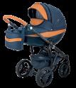 Детская коляска Adamex Monte Carbon Deluxe D4