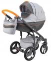Детская коляска Adamex Monte Carbon Deluxe D9