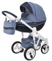 Детская коляска Adamex Monte Carbon Deluxe D22