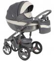 Детская коляска Adamex Monte Carbon Deluxe D23