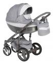 Детская коляска Adamex Monte Carbon Deluxe D26