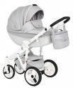 Детская коляска Adamex Monte Carbon Deluxe D27