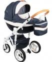 Детская коляска Adamex Monte Carbon Deluxe D29