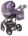 Детская коляска Adamex Monte Carbon Deluxe D28