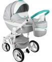 Детская коляска Adamex Monte Carbon Deluxe D30