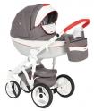Детская коляска Adamex Monte Carbon Deluxe D31