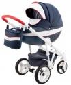 Детская коляска Adamex Monte Carbon Deluxe D32