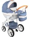 Детская коляска Adamex Monte Carbon Deluxe D33