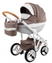 Детская коляска Adamex Monte Carbon Deluxe D34