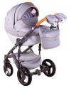 Детская коляска Adamex Monte Carbon Deluxe D35