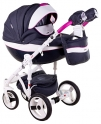 Детская коляска Adamex Monte Carbon Deluxe D36