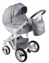 Детская коляска Adamex Monte Carbon Deluxe D37