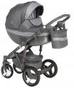 Детская коляска Adamex Monte Carbon Deluxe D38