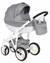 Детская коляска Adamex Monte Carbon Deluxe D39