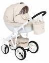 Детская коляска Adamex Monte Carbon Deluxe D40