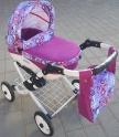 Детская кукольная коляска Adbor Lily K26