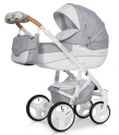Детская коляска Riko Brano Luxe (Grey fox)