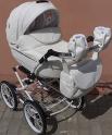 Детская коляска Adamex Katrina Q107 (100% кожа)