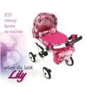 Детская кукольная коляска Adbor Lily Lc-20