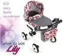 Детская кукольная коляска Adbor Lily K25