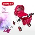 Детская кукольная коляска Adbor Lily Lc-12