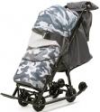 Детские санки-коляска Pikate Military Compact