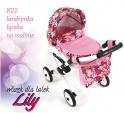 Детская кукольная коляска Adbor Lily Lc-22