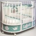 Детская кроватка c маятником Островок Уюта EVA Принц