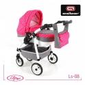 Детская кукольная коляска Adbor Lily Sport Ls-08